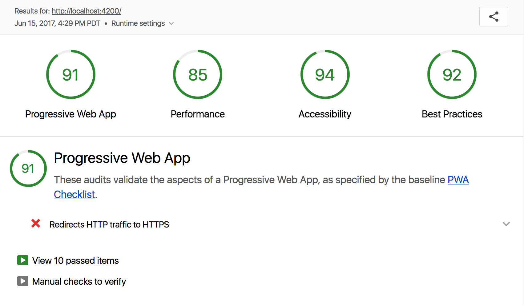 Building a Progressive Web App with Ember :: madhatted com